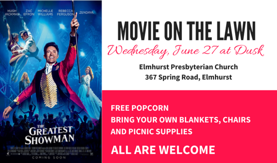 Movie Night on the Lawn