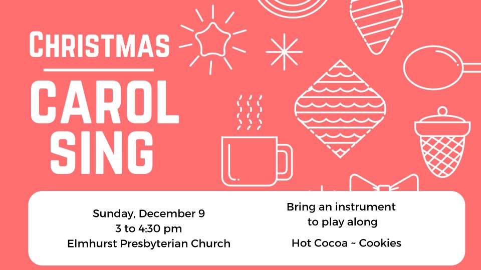 Christmas Carol Sing